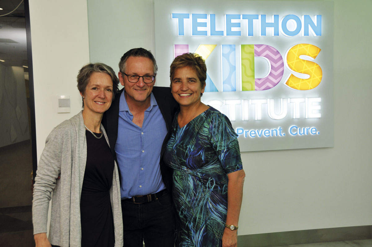 Dr Clare Bailey, Dr Michael Mosley & Dr Desiree Silva