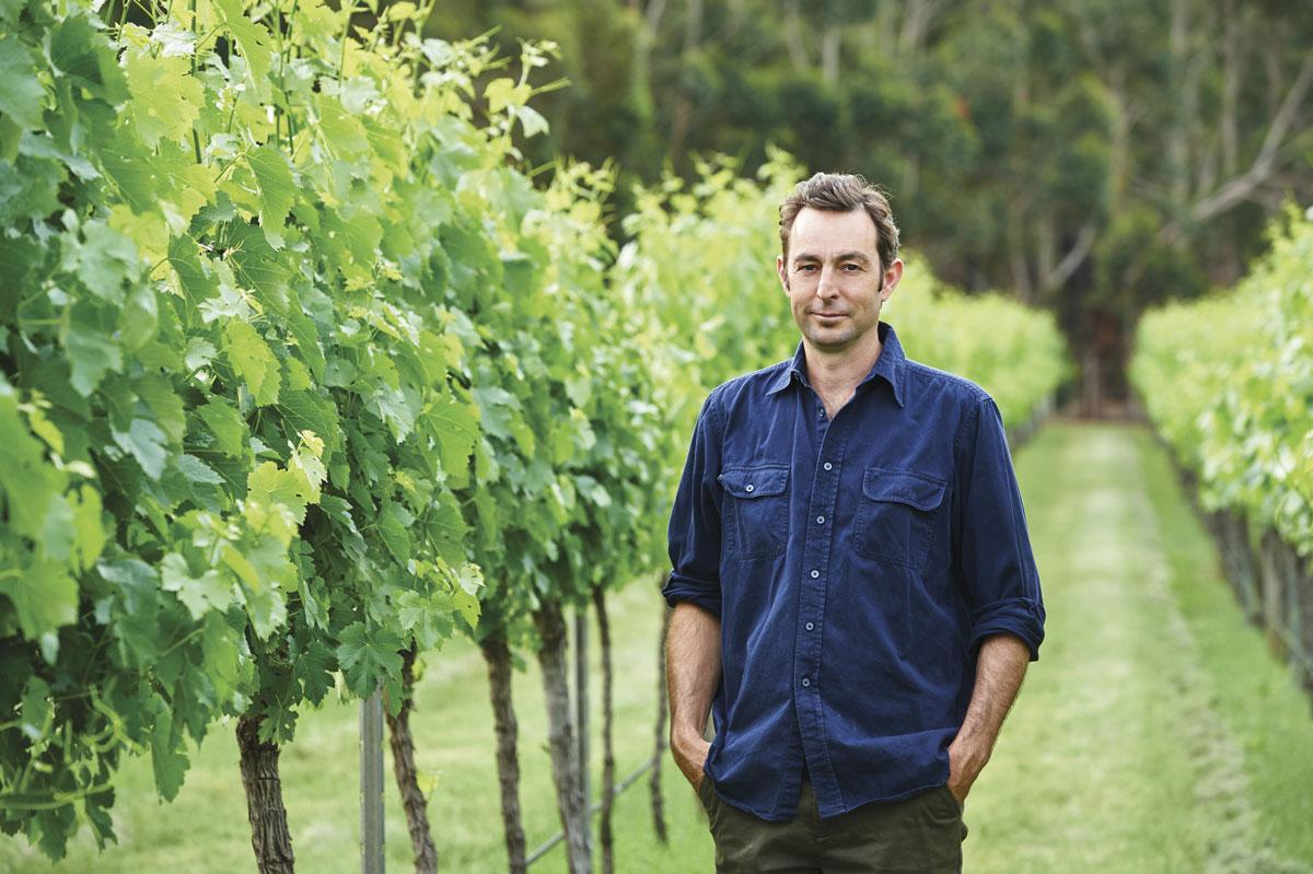 Winemaker Damian Hutton