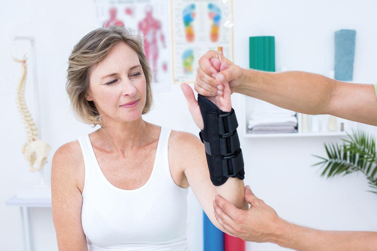 Arm fracture GP cast