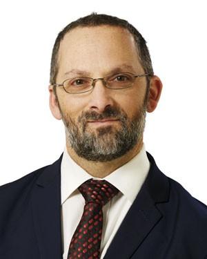Dr Aaron Simpson, Head of Biochemistry