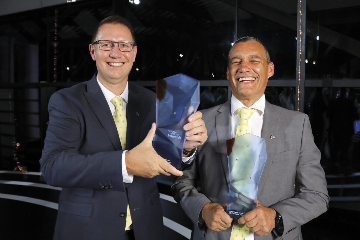 Dr Richard Harris & Dr Craig Challen, Australians of the Year 2019