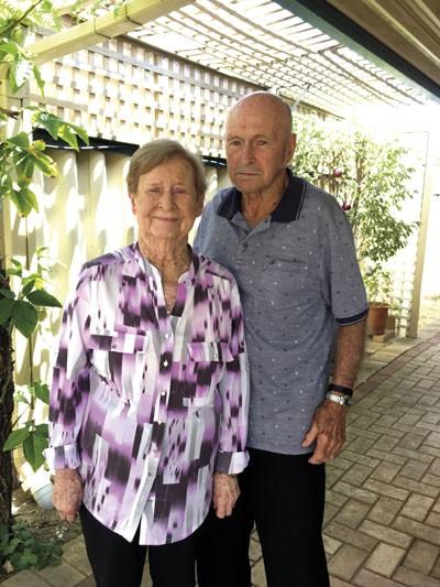Glenis Lucanus and husband Bill