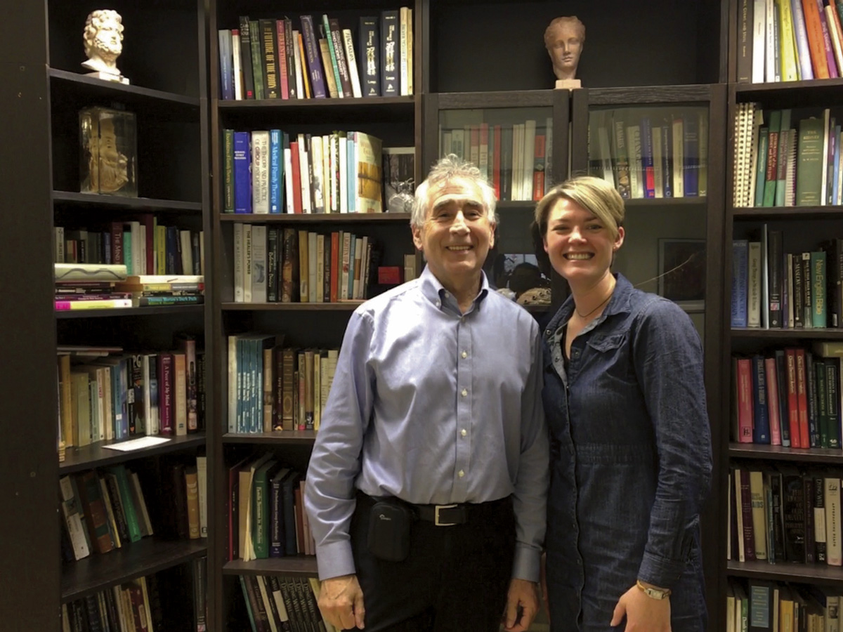 Dr Tom Hutchinson Director, McGill Programs in Whole Person Care & Dr Sarah Moore
