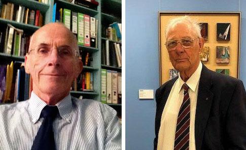 C/Professor Bill Musk and E/Professor Odwyn Jones