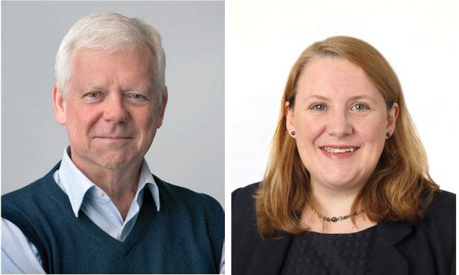 Left to right: Dr Simon Towler & A/Professor Alison Parr